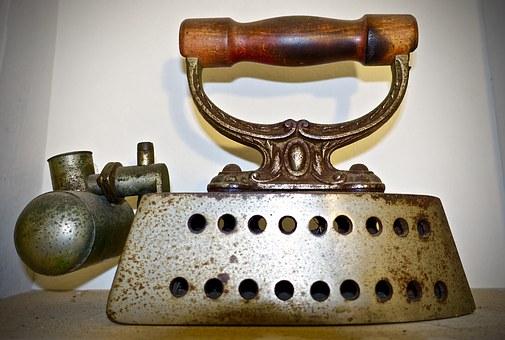 de fer, vintage, antique