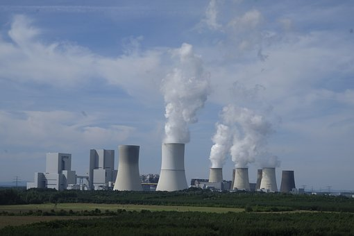industrie, power plant, centrale nucléaire de