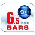 Calor GV6839C0 Centrale Vapeur Haute Pression Effectis Anti-Calc 6,5 bars Sans Réglages Effet Pressing jusqu'à 290g/min Générateur Repassage Noir et...